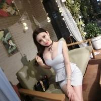 Top + Skirt - Atasan Pakaian dan Rok Wanita Taro Sweet Bandage (L) 333