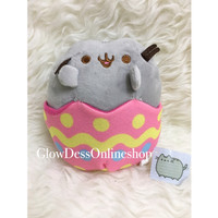 Boneka Pusheen Happy Easter