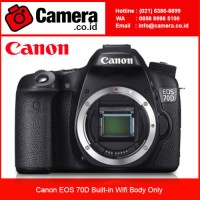 Canon EOS 70D Built-in Wifi Body Only/ Garansi Resmi