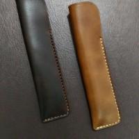 Jual Leather Pen Case - Single Pen Murah