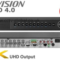 DVR 5MP 16 channel Hikvision DS-7216HUHI-F2/S support 2 HDD