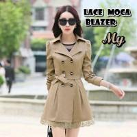 Baju Wanita/tunik/sabrina/baju Atasan/lace Blazer