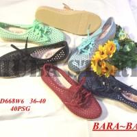 Jual Sepatu wanita jelly shoes import cewe keds kets DD668W6 Murah