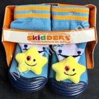 Skidder Sepatu Baby Motif Boneka Bintang Biru Navy Uk 21