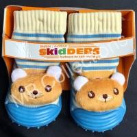 Skidder Sepatu Baby Motif Boneka Tupai Biru Muda Uk 23