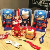 Jual Kipas angin USB portable karakter Transformer Captain America&Iron Man Murah