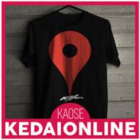 Kaos Lucu Google Map Pinned Dead Tshirt KedaiOnline