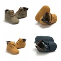 Jual Lace Up Leather Baby Shoes | Sepatu Bayi Murah | Prewalker Murah