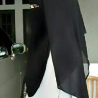 Zahira Niqab 3 layer Polos