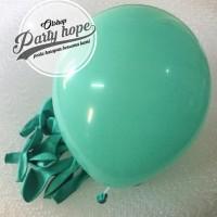 Balon / Balon Latex / Balon Metalic / Balon Warna Hijau Tosca
