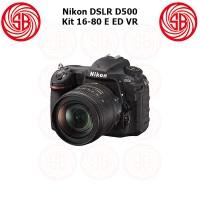 Kamera Nikon D500 + 16-80mm ; Camera Nikon D 500 Kit, Crop Factor ; 4K