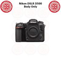 Kamera Nikon D500 Body Only ; Camera Nikon D 500 BO ; Crop Factor ; 4K