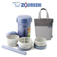 ZOJIRUSHI LUNCH BOX / FOOD JAR 3 SUSUN SL-NT09-ST HARGA PROMO !!!
