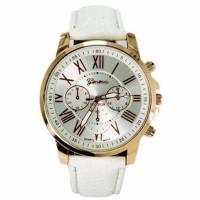 Jam Tangan Wanita Sanwood Kulit - Putih 635418