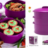 Jual Tupperware Steam It Ungu PROMO TURUN HARGA Murah