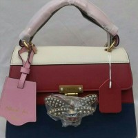 JUAL TAS GUCCI MARGARET RED PINK MIRROR QUALITY
