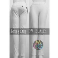 Jual Legging 99 bahan jeans denim (Putih) size m-xl Murah