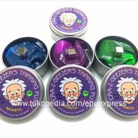 CRAZ-Z-GEEZER'S Magnetic Putty Slime (TIDAK LENGKET & TIDAK BERNODA)