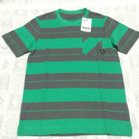 "GIORDANO JUNIOR : unisex ""bright jade"" shirt"
