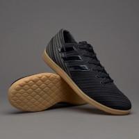 Sepatu Futsal Adidas Nemeziz 17.4 IN Sala Core Black Ori