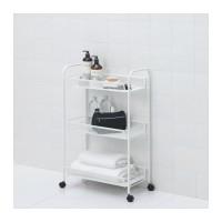 Jual BEST SELLER IKEA HORNAVAN Troli, putih, 26x48x77 cm Murah