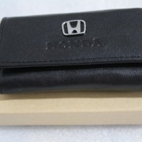 Dompet STNK - gantungan kunci mobil/motor HONDA (100% kulit asli)