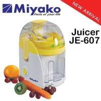 Miyako Juicer JE-607 / JE 607 - Pengejus Buah - Juice Extractor