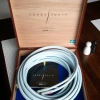 Speaker kabel SUPRA SWORD 2x2Mtr Audiophile Quality buatan Swedia