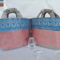 TENTENG RENDA SPUNBOND TOTE BAG Tas Wanita Goodie Bag wedding Souvenir