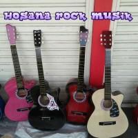 Jual Gojek Only / Paket Gitar Akustik Pemula Murah