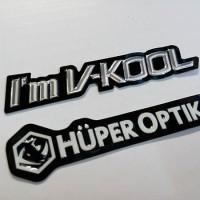 Stiker Kaca Film Mobil Sticker Vkool / Huper Optik Original