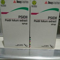 Psidii Syrup Ekstrak Daun jambu biji untuk Trombosit / DBD