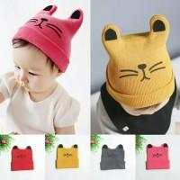 Jual Topi bayi rajut wool / kupluk / Baby Cap / Baby Hat Murah
