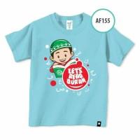 Kaos Afrakids AF 155 / Kaos Anak / Baju Anak Branded