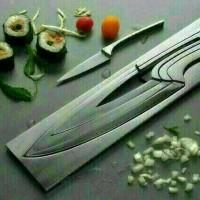 Jual pisau dapur S2 profesional kitchen chef set Murah