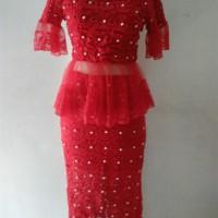 Jual Dress pesta/dress brukat brokat/dress cantik bagus murah/dress import Murah