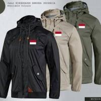 Jual Jaket Windbreaker Bendera Indonesia Murah