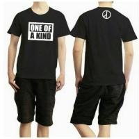 T - Shirt Distro | Kaos G - Dragon One Of A Kind Black