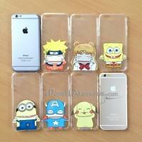 iPhone 6/6s Hand Pinch Soft Case Super thin 0,5 mm