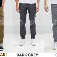 Jual Celana Chino Pria | Celana Panjang Pria STRECHT PREMIUM Murah