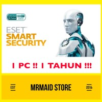 Antivirus ESET NOD32 Smart Security 10 1 PC 1 Tahun