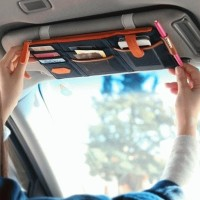 HV7306 Sun Visor Car Organizer Tempat Uang Kartu ATM KODE BIS7360