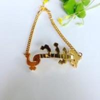 Kalung Lapis Emas Arab - Perhiasan Nama