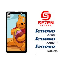 Casing HP Lenovo A7000, A7000 Plus, K3 Note Draw Winnie the Pooh Custo