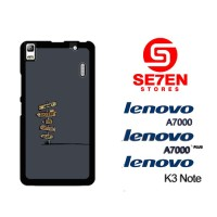 Casing HP Lenovo A7000, A7000 Plus, K3 Note Direction signs cartoon Cu