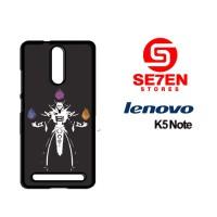 Casing HP Lenovo K5 Note invoker dota 2 Custom Hardcase