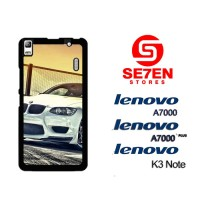 Casing HP Lenovo A7000, A7000 Plus, K3 Note White BMW M3 Custom Hardca