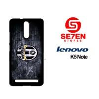 Casing HP Lenovo K5 Note juventus fc logo Custom Hardcase