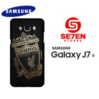 Casing HP Samsung J7 2016 gold liverpool logo Custom Hardcase