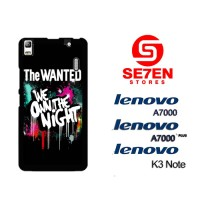 Casing HP Lenovo A7000, A7000 Plus, K3 Note The Wanted We Own The Nigh